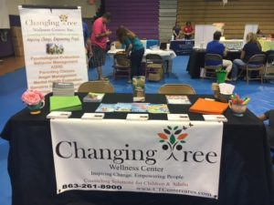 Changing Tree was present at the back to school bash at the OHS campus.